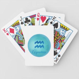 Aquarius Poker Deck