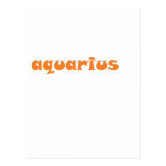 aquarius postcard
