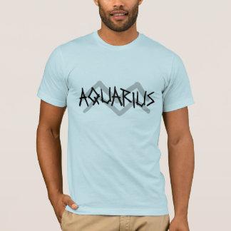 Aquarius Primal Text Shirt