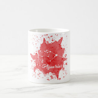 Aquarius Red Mug