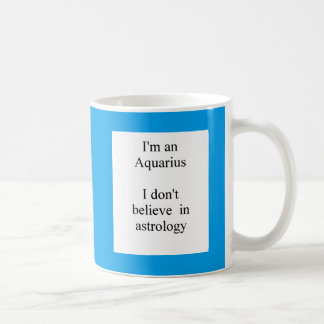 Aquarius sun sign humor mug