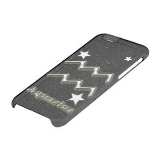 Aquarius symbol clear iPhone 6/6S case