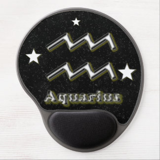 Aquarius symbol gel mouse pad