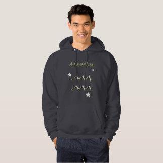 Aquarius symbol hoodie