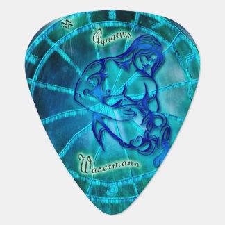 Aquarius the Water Bearer Guitar Pick