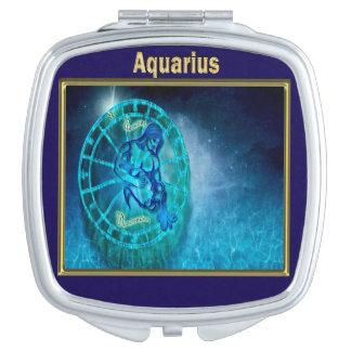 Aquarius the Water Bearer Horoscope Mirror For Makeup