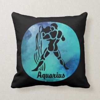 Aquarius The Waterbearer Throw Pillow