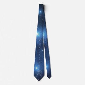 Aquarius Tie