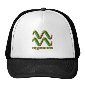 Aquarius Trucker Hat
