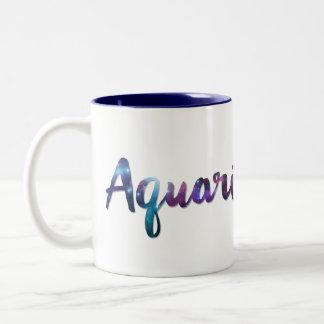 Aquarius Two-Tone Mug