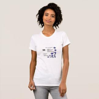 Aquarius Zodiac Birth Chart T-Shirts