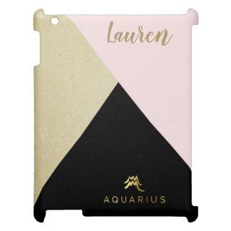 Aquarius Zodiac Case Savvy Matte iPad Case