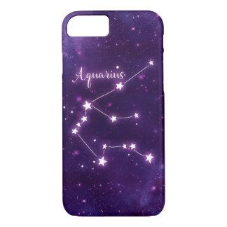 Aquarius Zodiac Constellation Phone Case