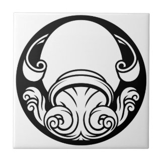 Aquarius Zodiac Horoscope Astrology Sign Tile