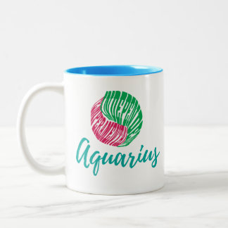 Aquarius Zodiac Horoscope Sign Mug