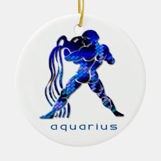 Aquarius Zodiac Ornament