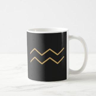 Aquarius Zodiac Sign Basic Coffee Mug