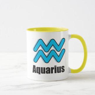 Aquarius Zodiac Sign Mug
