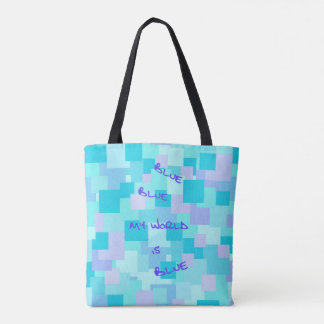 Aquasquare Cubed Tote Bag