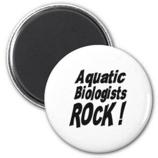 Aquatic Biologists Rock! Magnet