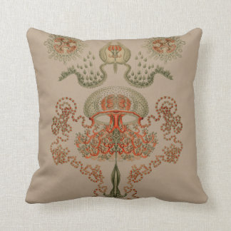 Aquatic Life ~ Haeckel ~ Jellyfish Cushions
