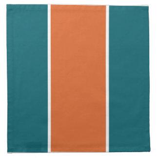 Aquatic Orange Napkins