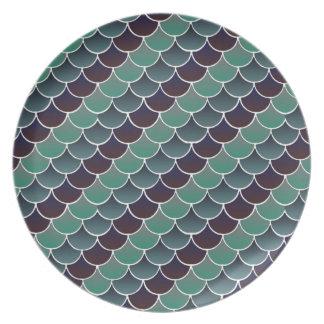 Aquatic Scales Plates