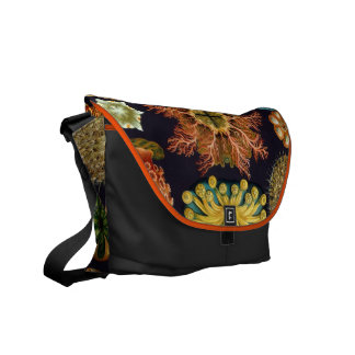Aquatic Wildlife Haeckel Illustration Commuter Bag