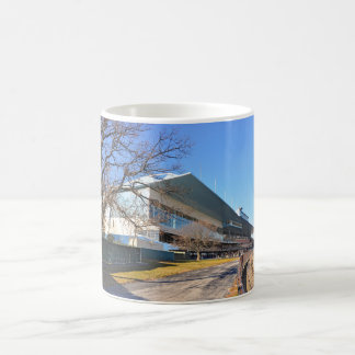 Aqueduct Racetrack on New Year's Day Coffee Mug