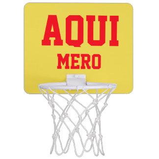 AQUI MERO MINI BASKETBALL HOOP