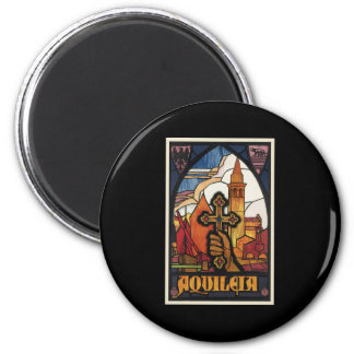 Aquileia 2 Inch Round Magnet