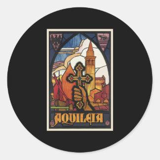 Aquileia Classic Round Sticker