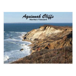 Aquinnah Cliffs of Martha's Vineyard Postcard