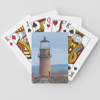 Aquinnah Light House Gay Head Playing Cards