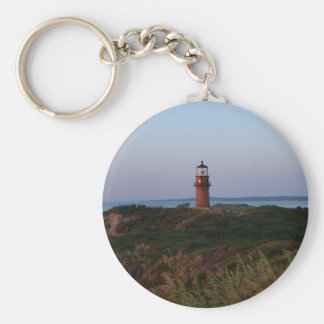 Aquinnah Sunset and Lighthouse Keychain