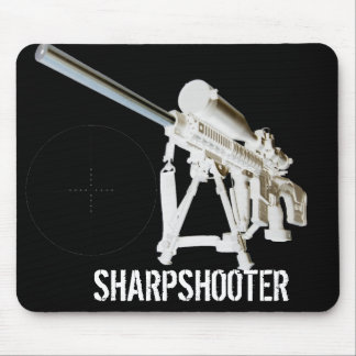 AR15 Mouse Pad- Sharpshooter w/ mil dot reticle Mouse Pad