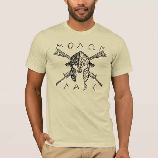 AR-15 Molon Labe Spartan T-Shirt