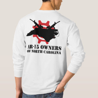 AR-15 Owners of North Carolina Long Sleeved T-Shir T-Shirt