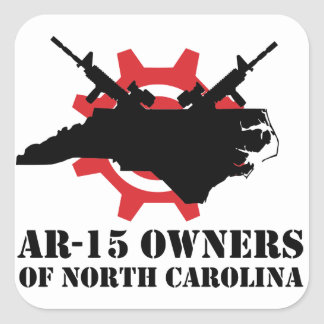 AR-15 Owners of North Carolina Square Sticker
