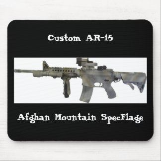 AR-15 Rifle Mousepad