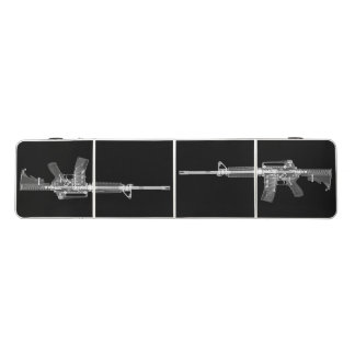 AR-15 X-ray beer pong table