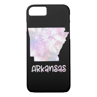 AR Arkansas State Iridescent Opalescent Pearly iPhone 8/7 Case