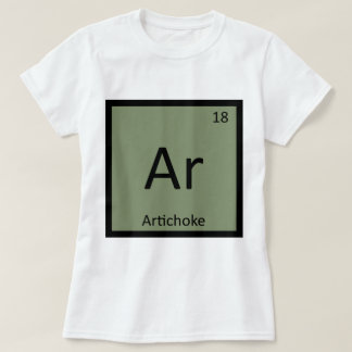 Ar - Artichoke Vegetable Chemistry Periodic Table T-Shirt