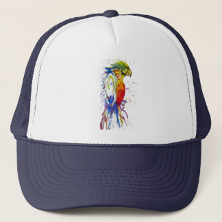 Ara Bird Parrot Trucker Hat