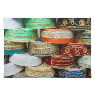 Arab Caps At Market Placemat