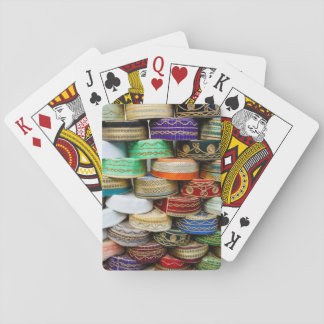 Arab Caps At Market Playing Cards