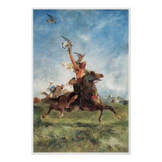 Arab Falconer, 1863 Eugene Fromentin Posters