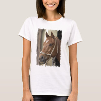 Arab Horses Ladies Fitted T-Shirt