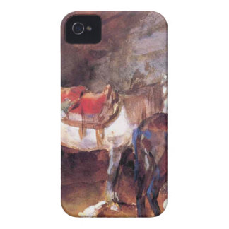 Arab Stable by John Singer Sargent iPhone 4 Case-Mate Case