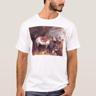 Arab Stable by John Singer Sargent T-Shirt
